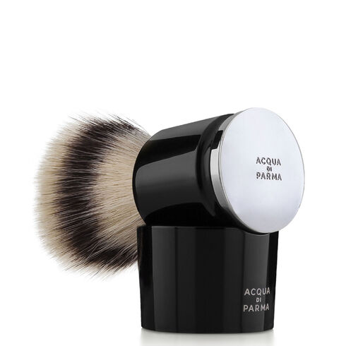 Black shaving brush, ONESIZE, hi-res-1