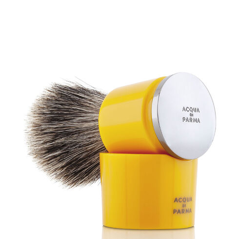 Badger shaving brush yellow, ONESIZE, hi-res-1