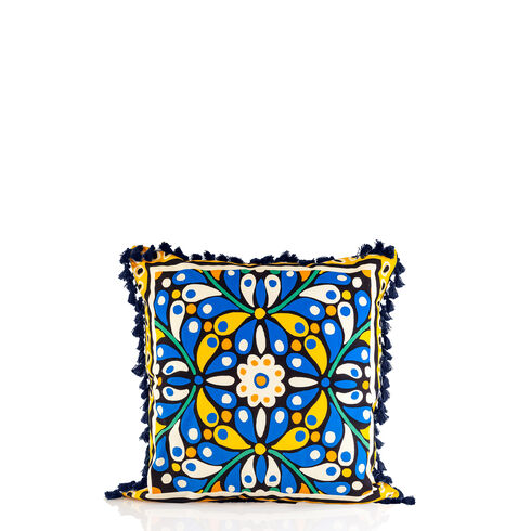 Cushion Cover - Confetti Blue, ONESIZE, hi-res-1