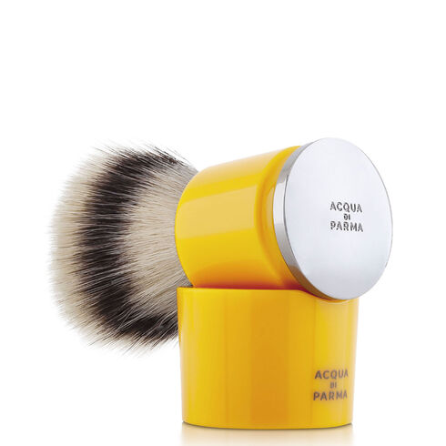 Yellow shaving brush, ONESIZE, hi-res-1