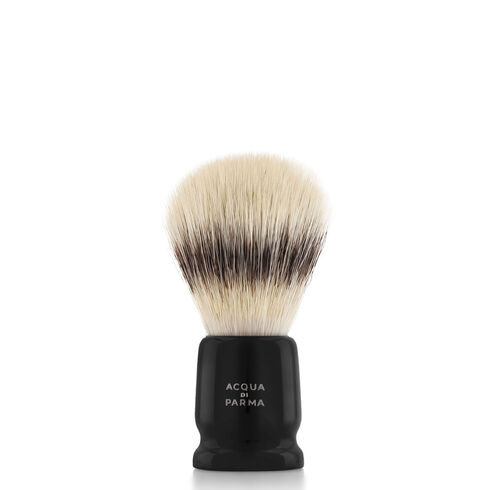 Black travel shaving brush, ONESIZE, hi-res-1